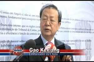 Fim da Missão do embaixador da China