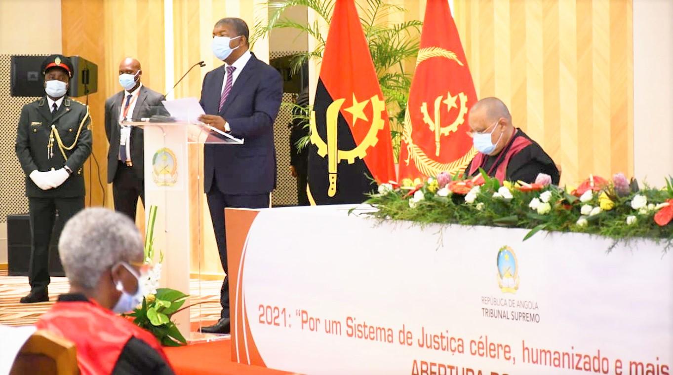 Chefe de Estado enaltece empenho dos Magistrados Judiciais e reafirma combate à corrupção