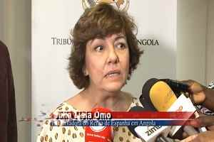Visita da Embaixadora de Espanha a Corte de Contas de Angola